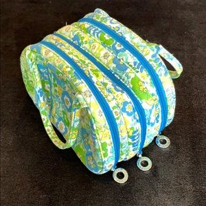Vera Bradley - English Meadow - makeup/travel bag